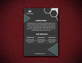 #20 for I need a Company Flyer template in photoshop or illustrator with corporate design. by marfydesign