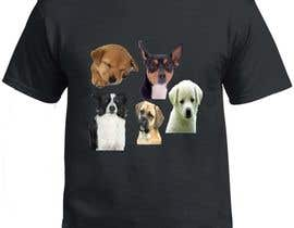 #38 for Dogs TShirt by nazmasumi000111