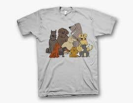 #17 for Dogs TShirt by shamemarema24