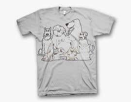 #18 for Dogs TShirt by shamemarema24
