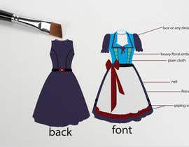 "#27 for DESIGN FASHION - Create a unique and fancy ""Dirndl 2020"" by jaharaswapnil"