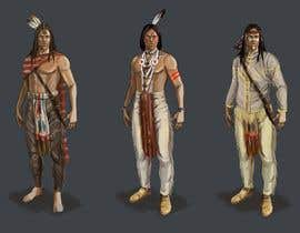 #7 for Concept Art : Native Americans by shustovalada