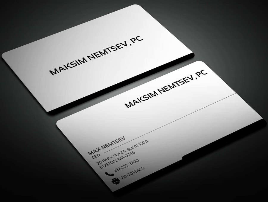 Entry 48 By Sahajid000 For Design Some Legal Business Cards