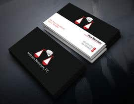 #79 for Design some Legal Business Cards by monir7554