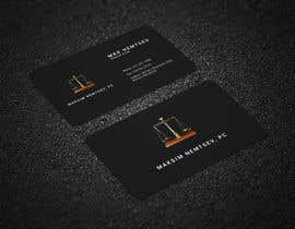 #249 for Design some Legal Business Cards by Ataur6332