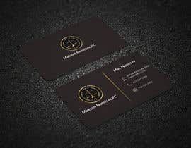 #221 for Design some Legal Business Cards by mdhelaluddin11
