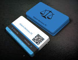 #253 for Design some Legal Business Cards by hafijfreelancer