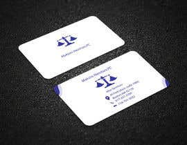 #244 for Design some Legal Business Cards by mdmaraj