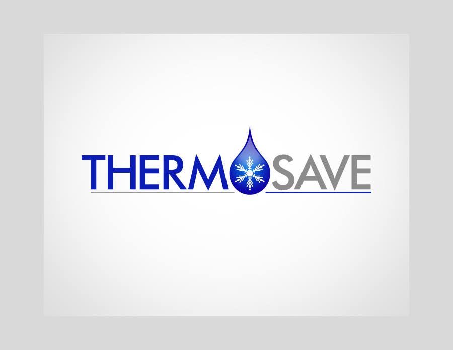 Kilpailutyö #443 kilpailussa Logo Design for THERMOSAVE