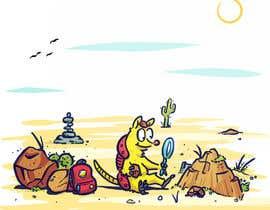 #20 for Illustrate Children's Book: Lemon Armadillo by GabSW