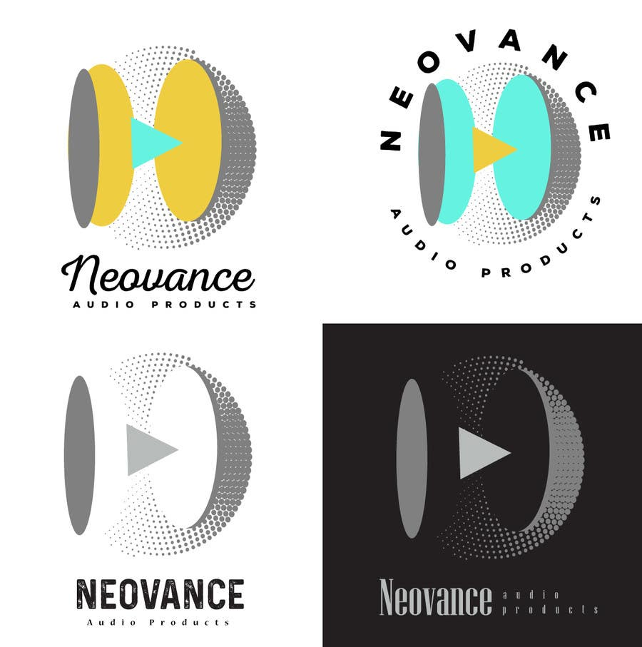 Contest Entry #4 for Neovance - Logo for Earphone Company