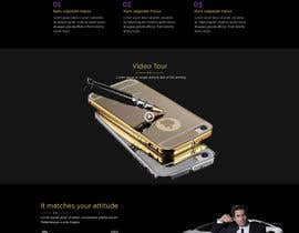 #13 for Design a Website Mockup for Luxury phones by niladrilx