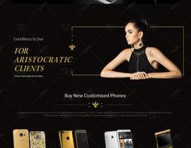 #6 for Design a Website Mockup for Luxury phones by doomshellsl