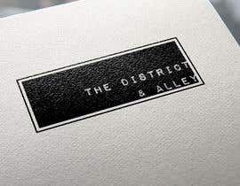 #37 for Design a Logo for online store-The District and Alley by markpaulbautista