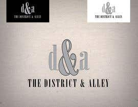 #55 for Design a Logo for online store-The District and Alley by salimwidjojo