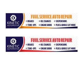 #17 for Auto repair Shop Sign/Banner by Amalbasti