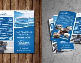 #23 for Brochure for Blue Diamond Mobile Carwash Qatar. by elkarmani