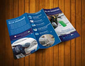 #16 for Brochure for Blue Diamond Mobile Carwash Qatar. by patricashokrayen