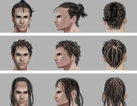 #2 for Illustrate 40 Hairstyles by marcelmori