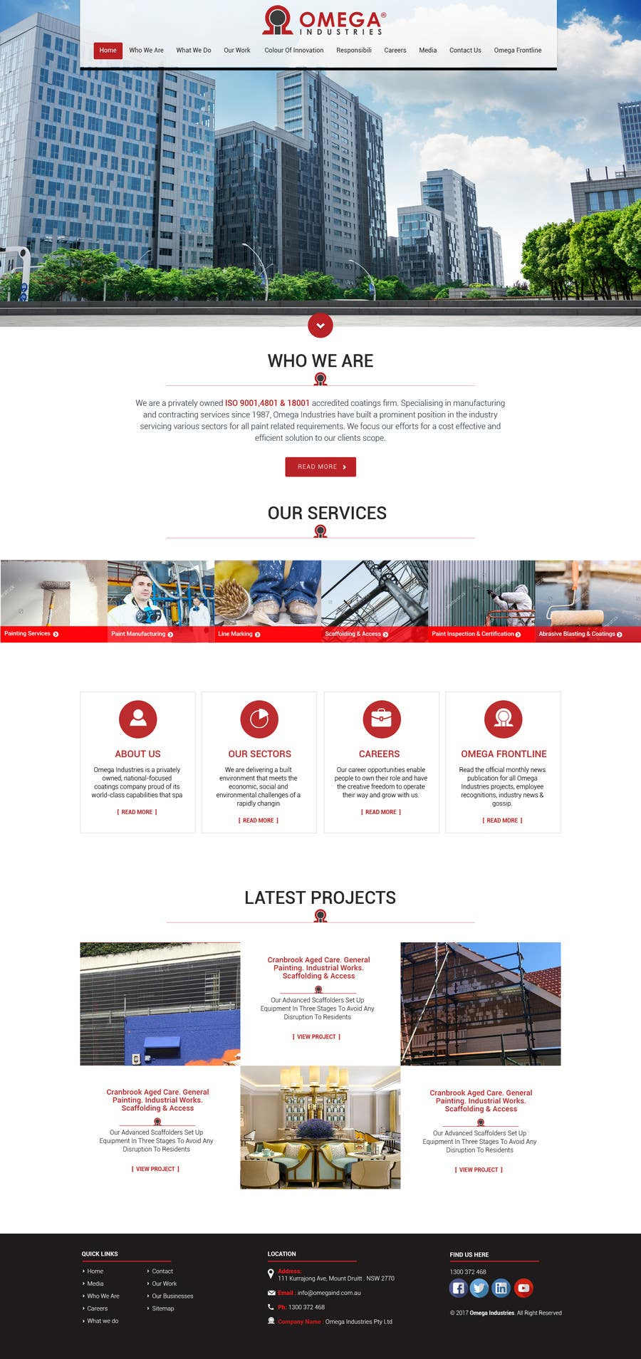 Contest Entry #61 for Build a Corporate Website