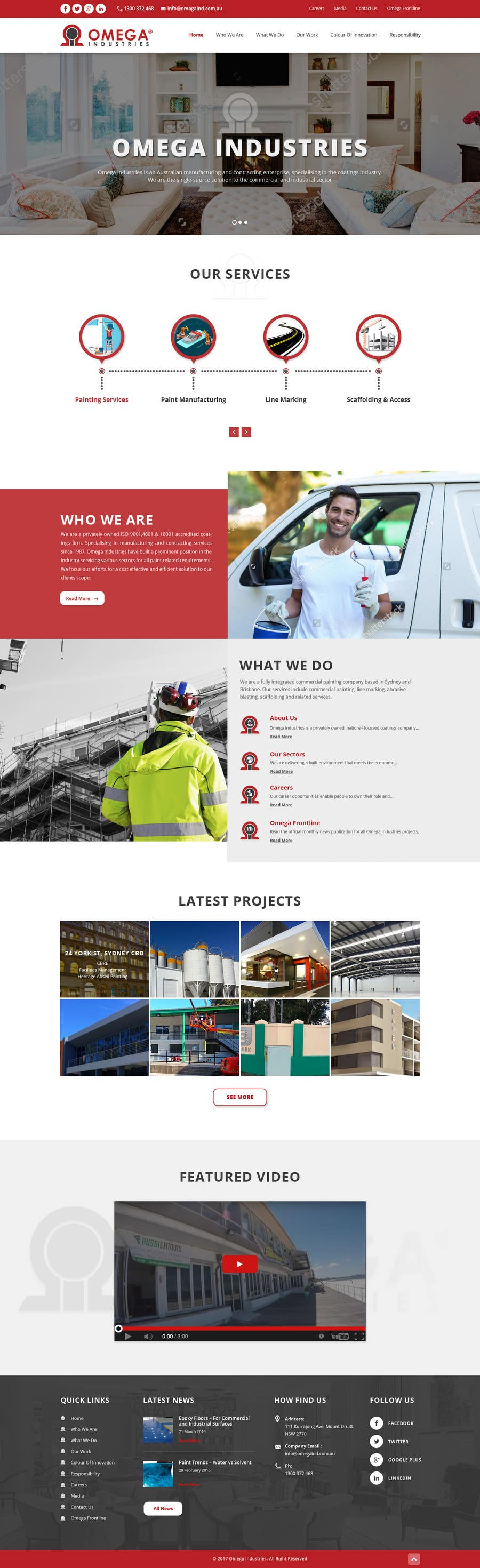 Contest Entry #82 for Build a Corporate Website