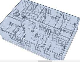#9 for Interior design For Home using floorplan by ronaaron2