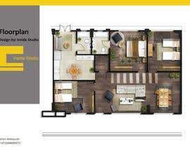 #7 for Interior design For Home using floorplan by Ibrahim261993