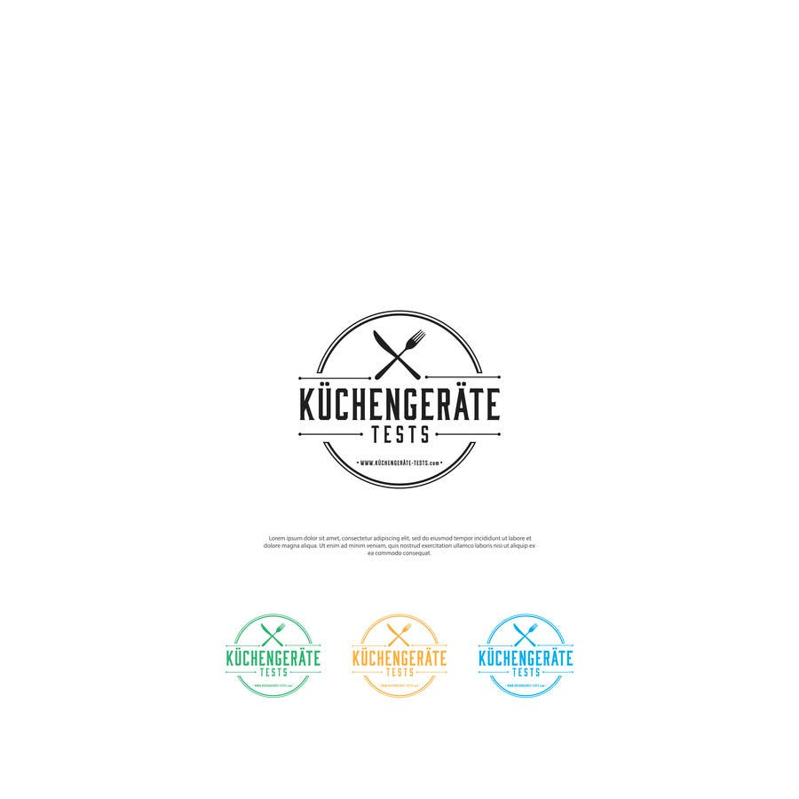 Logo Design For A Website About Kitchen Tools