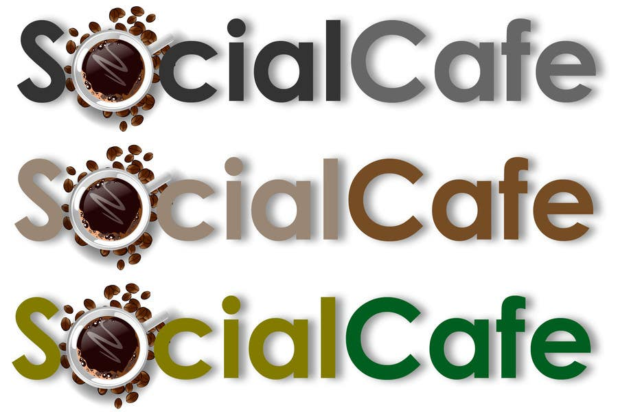 #326 for Logo Design for SocialCafe by PCRepairamedics