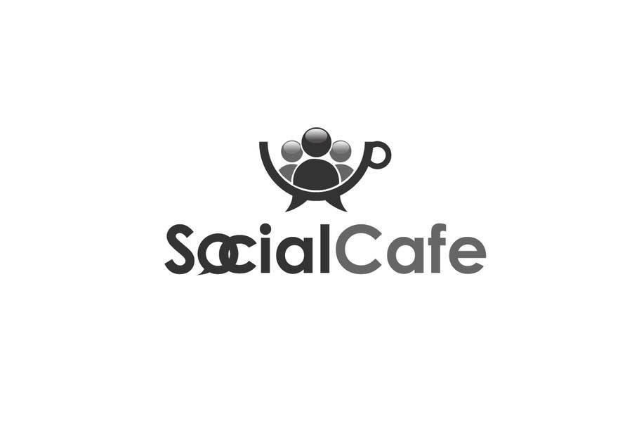 #355 for Logo Design for SocialCafe by logoustaad