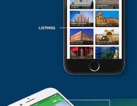 #4 for Create Mockup For Mobile Tourism App by Avik4Design