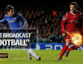 #63 for Football broadcast Wallpaper design by laeeqnazir17
