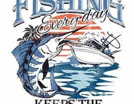 #42 for Design a T-Shirt For Fishing Shop by blackhordes