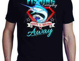#85 for Design a T-Shirt For Fishing Shop by ppgc101982