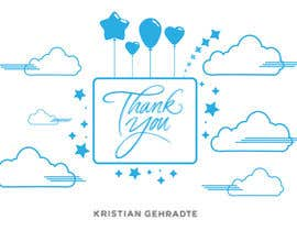 #3 for I need some Graphic Design for a thank you note by nazreevridzuan