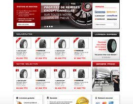 #35 para Website Design for Tyres por dragnoir
