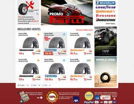nº 22 pour Website Design for Tyres par hipnotyka