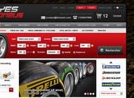 Graphic Design Inscrição do Concurso Nº34 para Website Design for Tyres