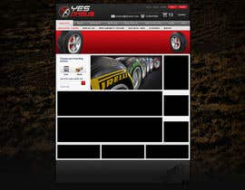 #26 для Website Design for Tyres от creator9