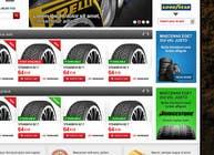 Graphic Design Inscrição do Concurso Nº43 para Website Design for Tyres