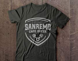 #70 for Sanremo Cafe Racer T shirt Design by Termoboss