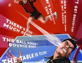 #27 for Table Tennis Poster design: 1 winner and up to 4 runners-up by marinasanc