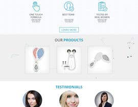 #38 for MODERN AND BEAUTIFUL LANDING PAGE NEEDED FOR BEAUTY COMPANY *URGENT* by adsingh13