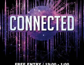 #54 for Design a Flyer | CONNECTED | music club by DaveWL