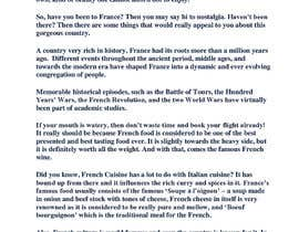 #11 for Travel writing: France in a nutshell - testing content writers for long-term by YoussefSultan
