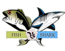 #20 for Fish vs Shark Icon/Logo by mahadibahari