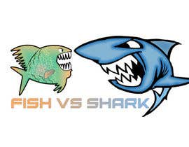 #19 for Fish vs Shark Icon/Logo by achrafboukili1