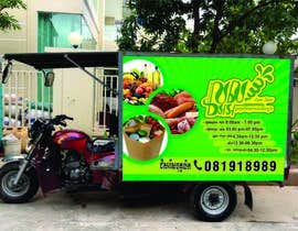 #7 for I need a design for advertisement on delivery vehicle by yadavsushil