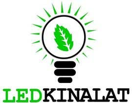 "#37 for Create vector logo for ""ledkinalat"" by dalimahdi94"