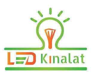 "#49 for Create vector logo for ""ledkinalat"" by Kamrulhasan98k"
